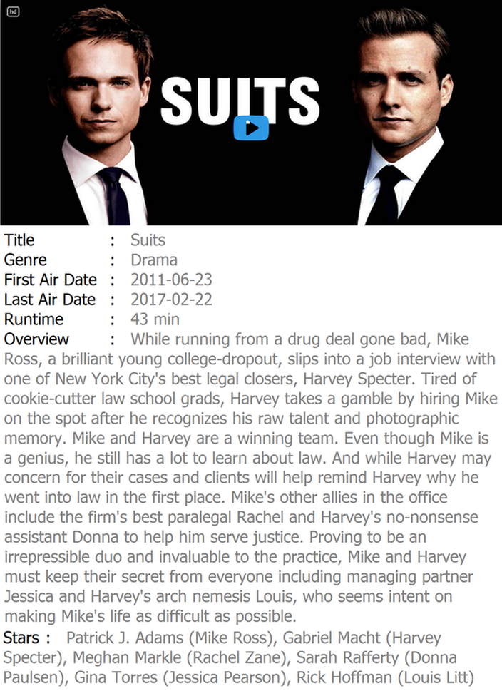 Watch Suits Full Series Movie Free Online Streaming - Home